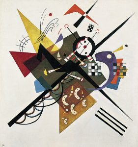 On White II. Wassily Kandinsky. 1923