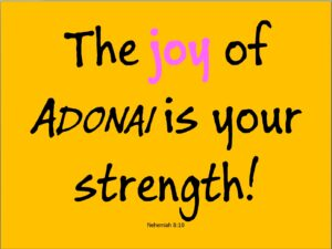 The joy of ADONAI is your strength - Digital Art - James Capers